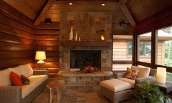 Cedar rustic wood siding