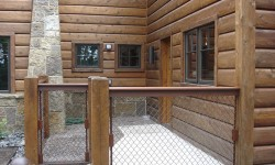 Cedar rustic wood siding