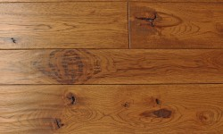 Hickory Custom wood floor
