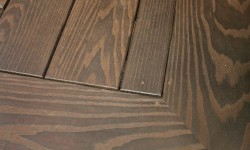 Petrified ash decking