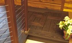 Petrified ash decking