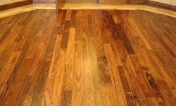 Bolivian Rosewood Custom wood floor