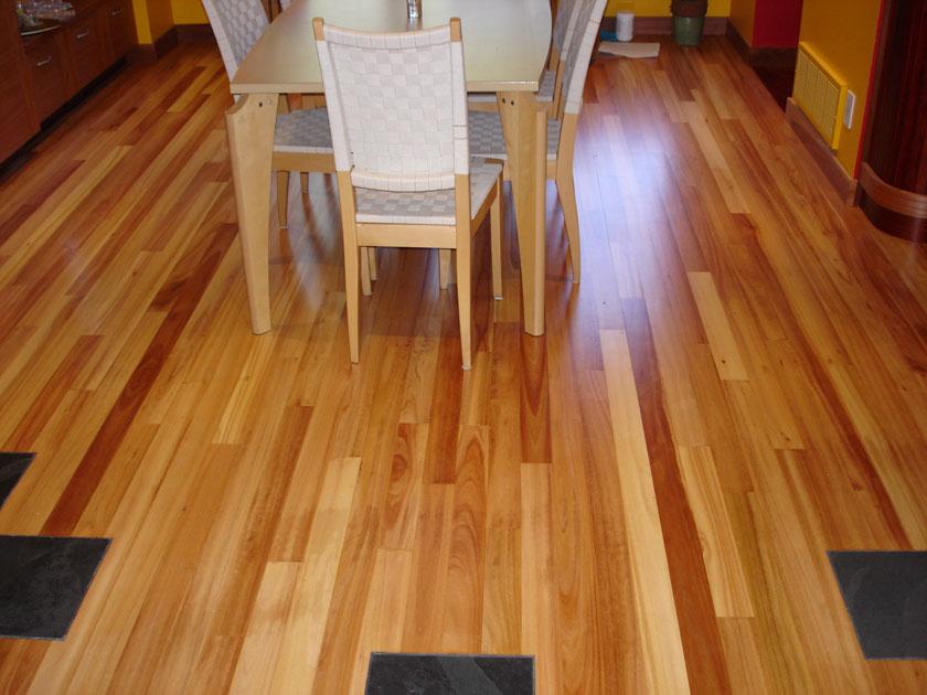 Lyptus Hardwood Flooring Part - 23: Lyptus Custom Wood Floor: Select Lyptus Micro Bevel