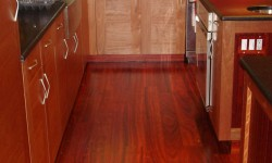 Paduk Custom wood floor