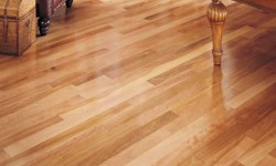 Birch Custom wood floor