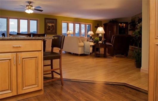 Red Birch & Walnut Wood Flooring