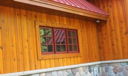 Cedar channel siding-heritage collection