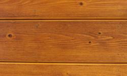 Pine log siding