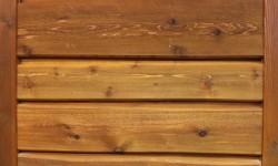 Cedar scan log siding