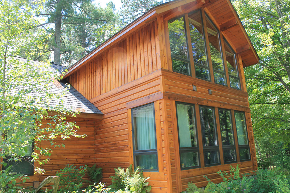 Headwaters collection kwaterski bros wood products inc for Natural wood siding