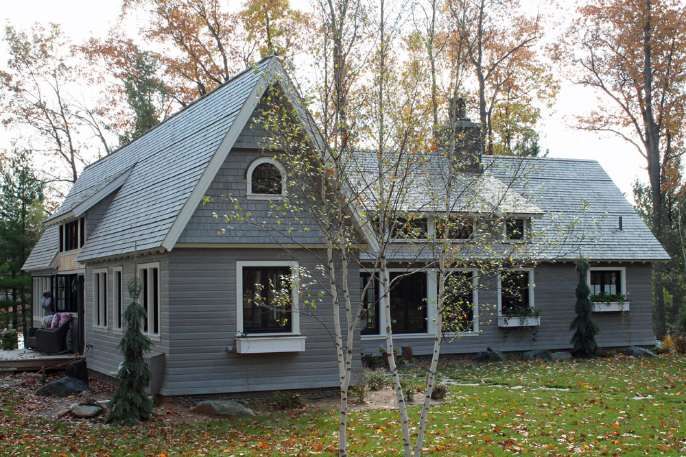 Wood siding cedar drop siding
