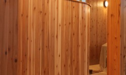 Cedar paneling-Mellow country collection