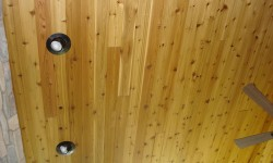 Cedar paneling-Rustic elegance collection