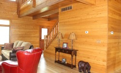 Pine paneling-Rustic retreat collection