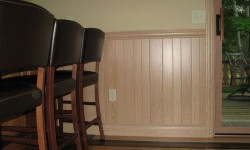 Hickory paneling-Mellow country collection