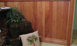 Lyptus tongue and groove paneling-Arts & Crafts, Mission collection