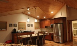 Alder paneling-Rustic retreat collection