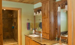 Butternut paneling-Rustic retreat collection