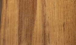 Burma teak surfaced lumber
