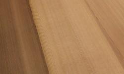 Cedar surfaced lumber