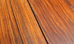 Granadillo surfaced lumber