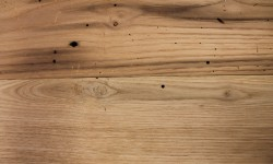 Wormy chestnut surfaced lumber