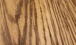 Zebrawood surfaced lumber