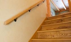 Ash wood handrail
