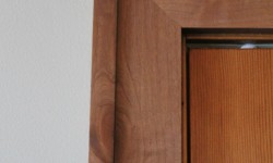 Cherry wood trim