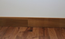 Cedar wood trim