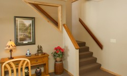 Hickory wood trim