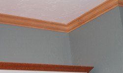 Maple wood trim