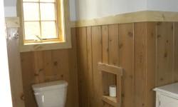 Pine wood trim